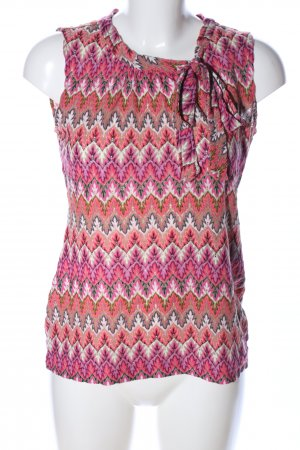Comma Camicia maglia stampa integrale stile casual
