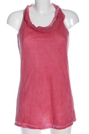 Comma Gebreide top roze elegant