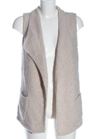 Comma Smanicato lavorato a maglia bianco sporco stile casual
