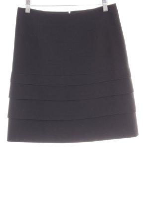 Comma Gelaagde rok zwart elegant