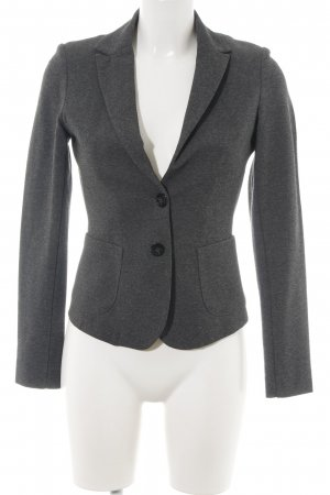 Comma Sweatblazer hellgrau meliert Business-Look