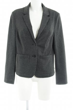 Comma Sweatblazer schwarz-dunkelgrau Business-Look