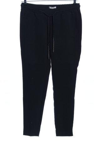 Comma Joggingbroek zwart casual uitstraling