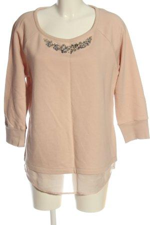 Comma Sweatshirt nude Casual-Look