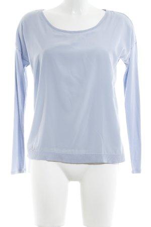 Comma Sweatshirt himmelblau