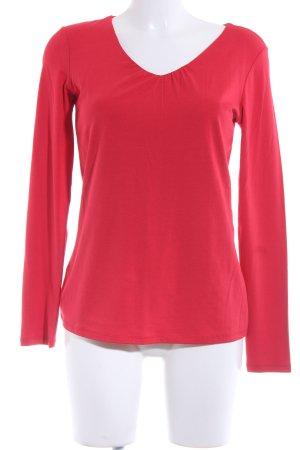 Comma Sweatshirt rot Casual-Look