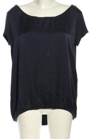 Comma T-Shirt schwarz Casual-Look