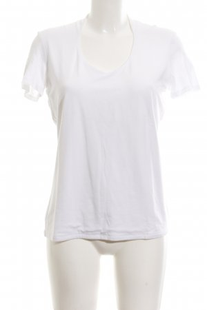 Comma T-Shirt weiß Casual-Look