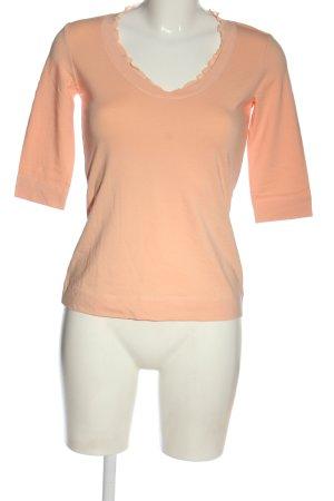 Comma T-shirt nude W stylu casual