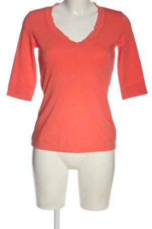 Comma T-shirt jasny pomarańczowy W stylu casual