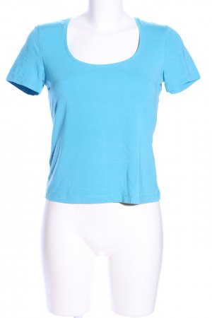 Comma T-Shirt blau Casual-Look