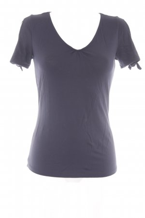 Comma T-Shirt dunkelblau Casual-Look