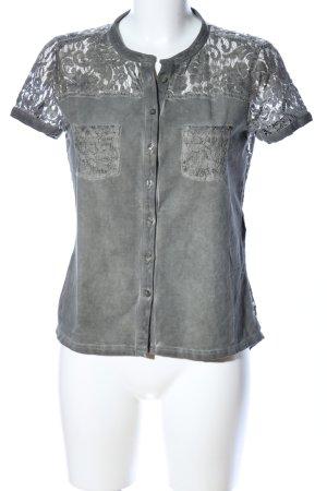 Comma T-Shirt khaki Casual-Look