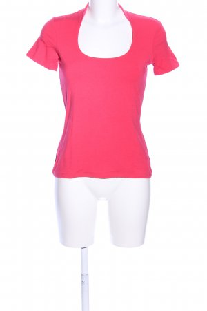Comma T-Shirt pink Casual-Look