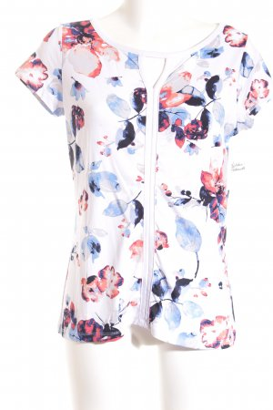 Comma T-Shirt florales Muster Casual-Look