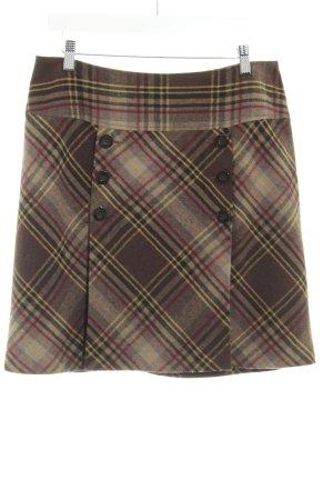 Comma Taffeta Skirt check pattern classic style