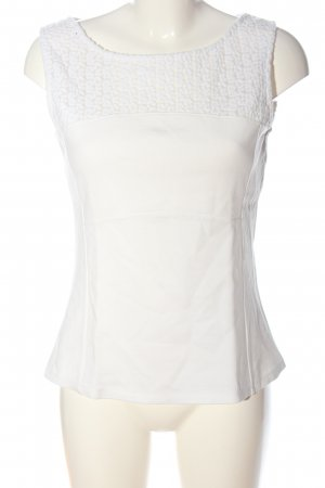 Comma Tanktop wit casual uitstraling
