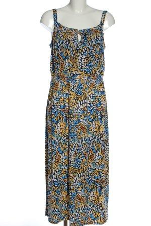 Comma Sukienka na ramiączkach Abstrakcyjny wzór W stylu casual