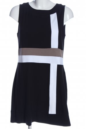 Comma Trägerkleid Streifenmuster Casual-Look