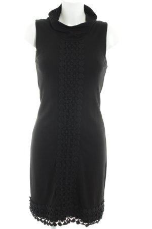 Comma Trägerkleid schwarz Elegant