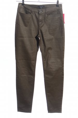Comma Pantalone sfoderato marrone stile casual