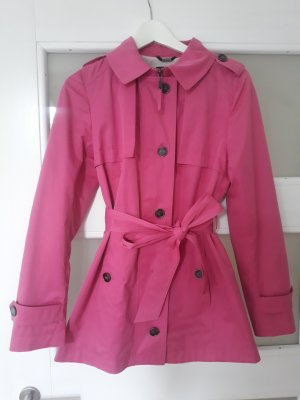Comma Trench Coat pink