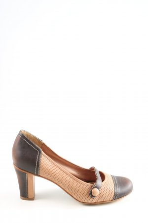 Comma Chaussure décontractée brun-blanc cassé style décontracté