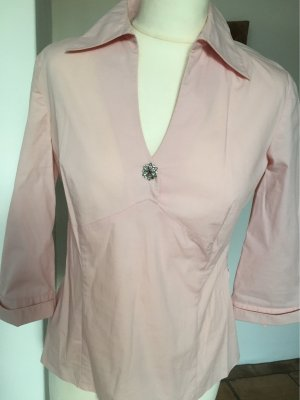 Comma Slip-over Blouse pink