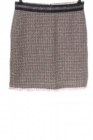 Comma Tweed Skirt weave pattern casual look