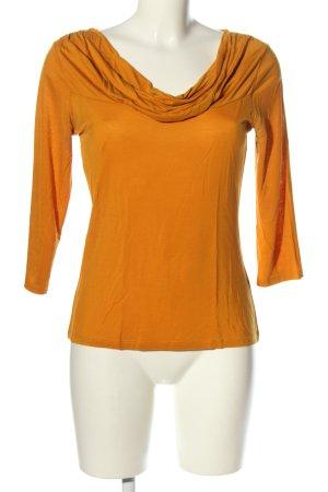Comma Koszulka z dekoltem woda jasny pomarańczowy W stylu casual