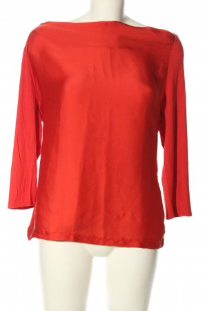 Comma Schlupf-Bluse rot Casual-Look