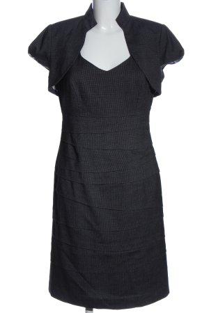 Comma Podwójny zestaw ze splotu siatka czarny-biały Melanżowy W stylu casual
