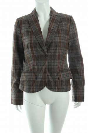 Comma Woll-Blazer Karomuster Business-Look