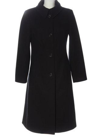 Comma Cappotto in lana nero stile professionale