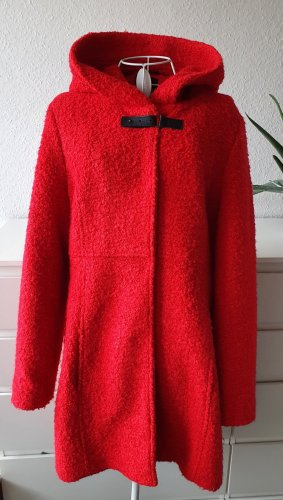 Comma Wool Jacket red wool