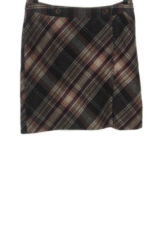 Comma Falda de lana estampado repetido sobre toda la superficie look casual