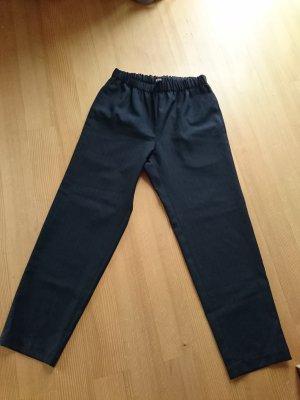 Comme des Garçons 7/8 Length Trousers black-ocher wool