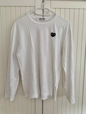 Comme des Garçons Long Sweater white-black