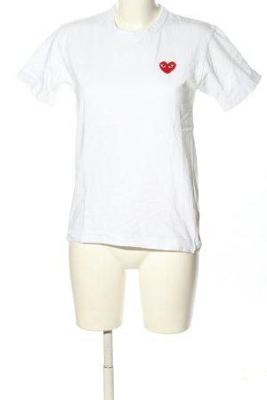 Comme des Garçons T-Shirt white casual look