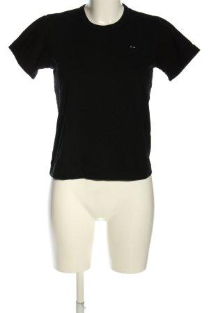 Comme des Garçons T-shirt nero stile casual