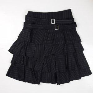Comme des Garçons Midi Skirt dark blue