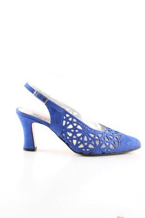 Commenti Riemchen-Sandaletten blau Casual-Look