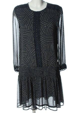 compagnia italiana Longsleeve Dress black-natural white casual look