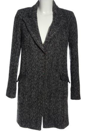 compagnia italiana Between-Seasons-Coat black-white casual look