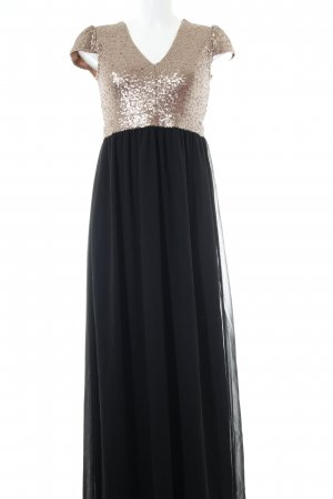 Compañia Fantastica Abendkleid schwarz-goldfarben Elegant