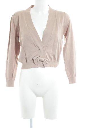 Compañia Fantastica Strickjacke beige schlichter Stil