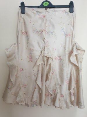 Lauren Jeans Co. Ralph Lauren Falda de seda multicolor