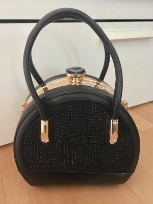 Composition Tasche Köfferchen Made in Italy schwarz neu