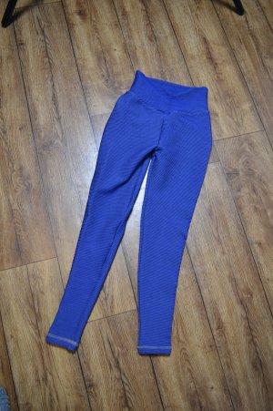 Compressions Leggin Gr. 34 High Waist blau