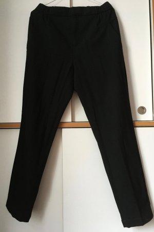 Comptoir des Cotonniers Woolen Trousers black wool